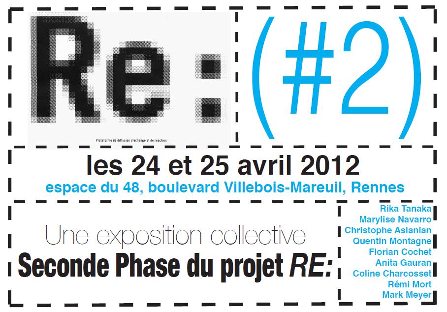 Re#2 exposition visuel