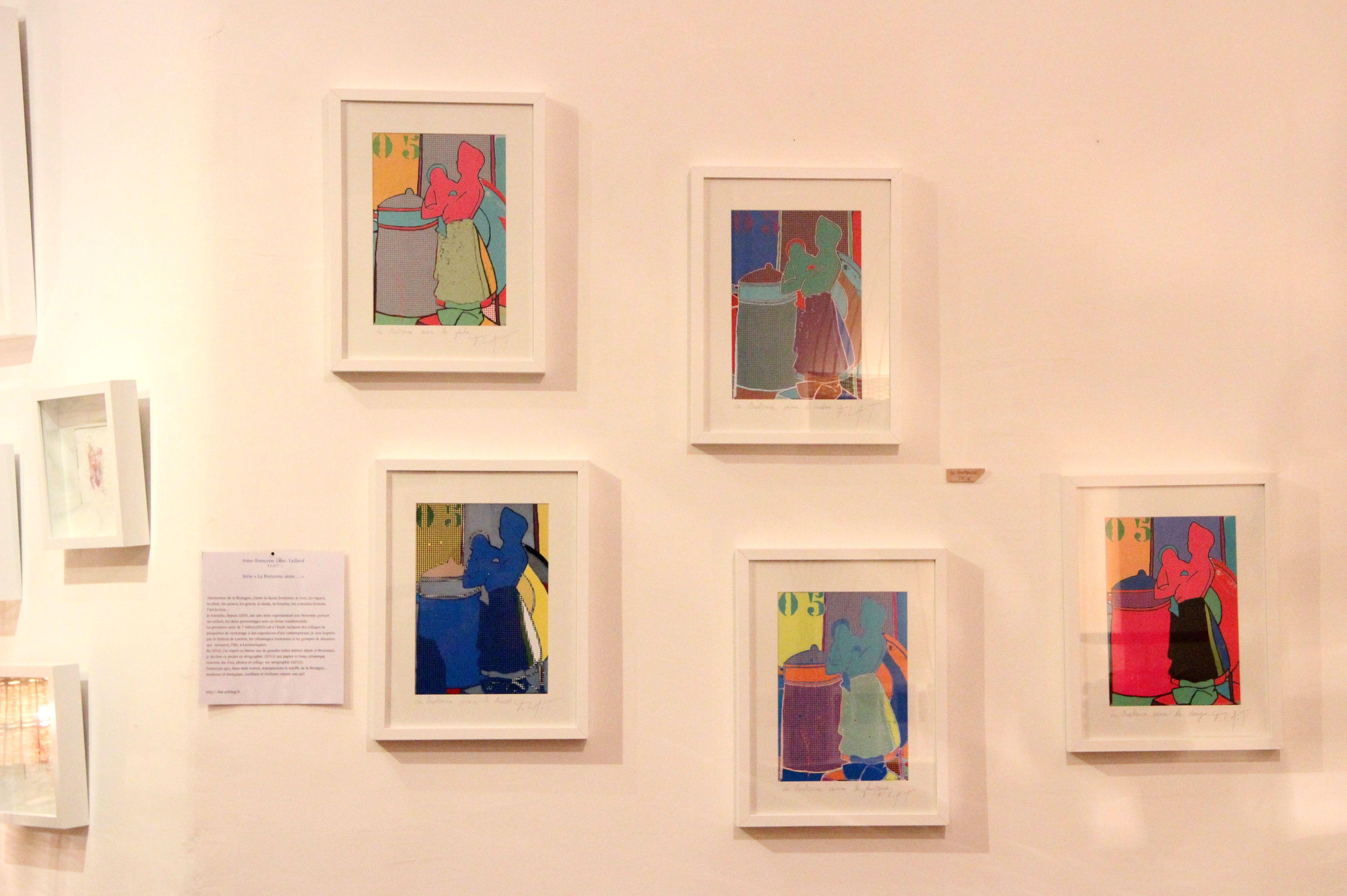 Les tableaux pop art breton d'Anne-Françoise Taillard