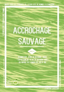 accrochage sauvage