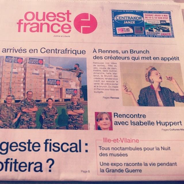 Ouest-France - mai 2014