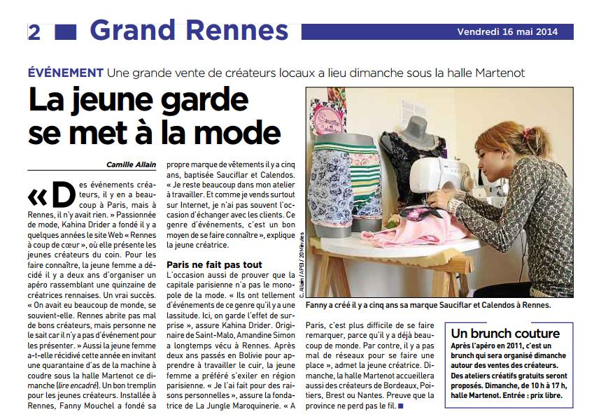 20 minutes Rennes - mai 2014