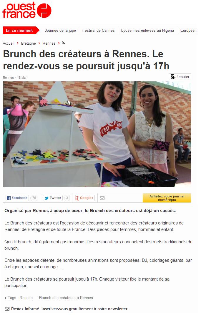 Ouest-France.fr - mai 2014