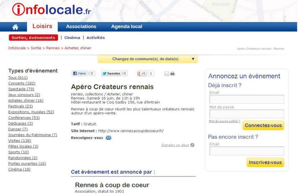 Info Locales - Juin 2012