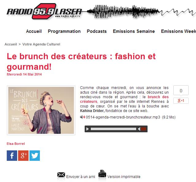Radio Laser - mai 2014