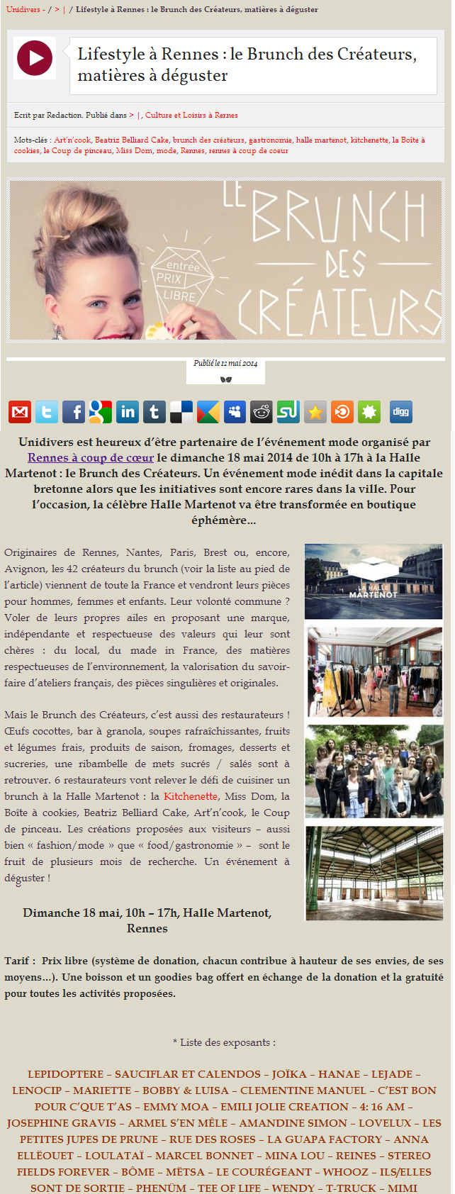 Unidivers.fr - mai 2014