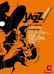 Jazz à l'Etage Affiche