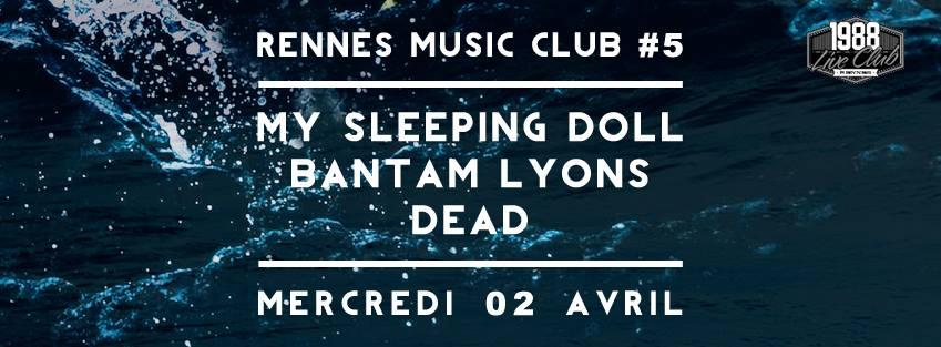 Agenda de la semaine du 24 au 30 mars rennes coup de for 1988 club music