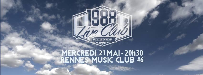 Agenda de la semaine du 20 mai au 25 mai rennes coup for 1988 club music