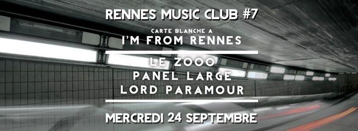 Agenda de la semaine du 23 au 28 septembre rennes for 1988 club music