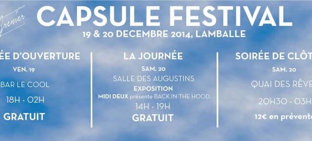 Le Grenier présente Capsule Festival