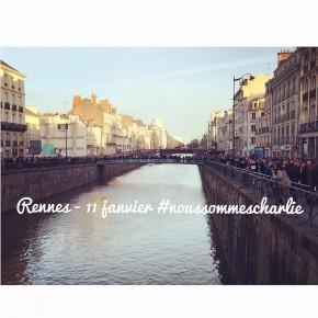 Rennes est Charlie