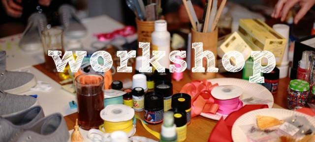 Le programme des workshops créatifs