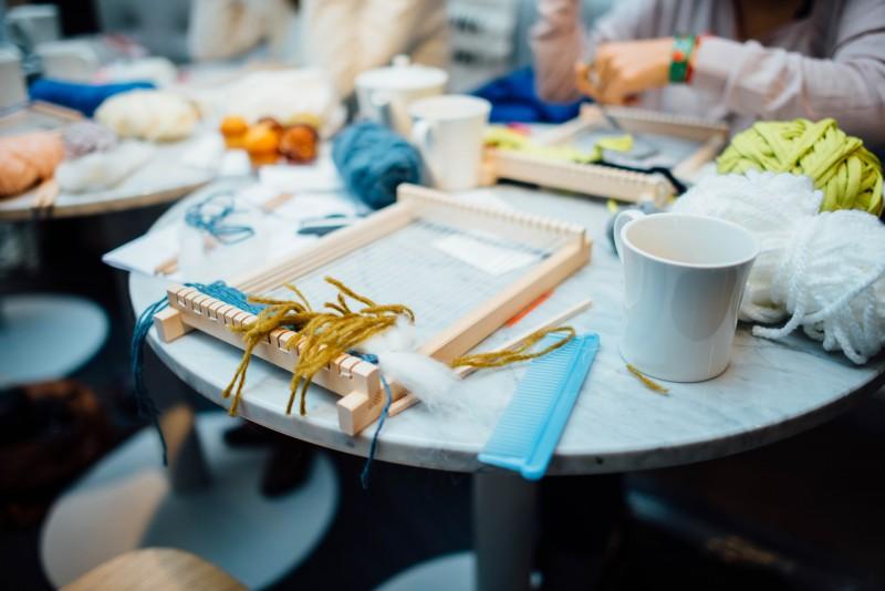 Atelier tissage Julie Robert x Rennes à coup de coeur