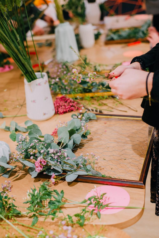 Atelier Fleurs  #3 - Les Fleurs d'EmiliJolie x Rennes à coup de coeur © Noe C Photography