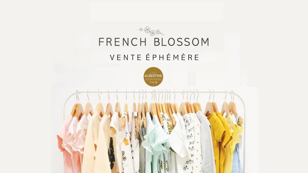 Vente éphèmère French Blossom