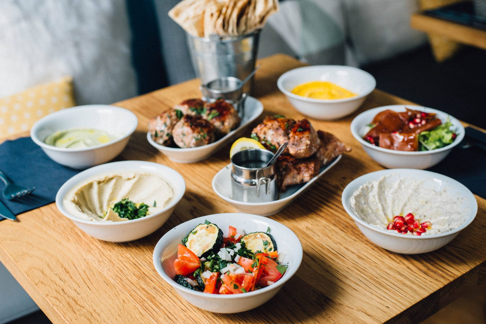 Mezzelicious restaurant libanais à rennes coup